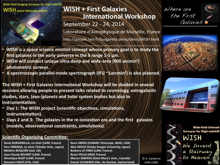 2nd Joint WISH-FLARE First Galaxies International Workshop
